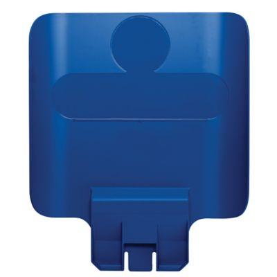 Letrero para Estación de Reciclaje Slim Jim Azul