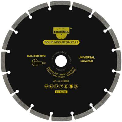 Disco Diamantado Universal 5Pulg 125X22.23