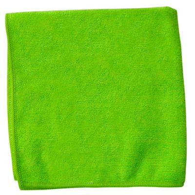 Paño Microfibra 200 Lavadas Verde x 10 Unidades