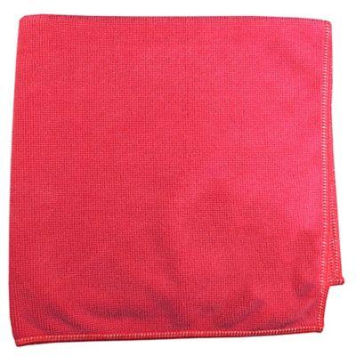 Paño Microfibra 500 Lavadas Roja x 10 Unidades