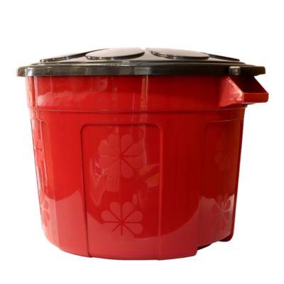 Caneca Plástica Eco 60 Lt Rojo