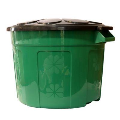 Caneca Plástica Eco 60 Lt Verde