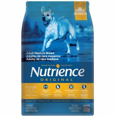 Nutrience Original Adultos Razas Medianas 2.5 Kg