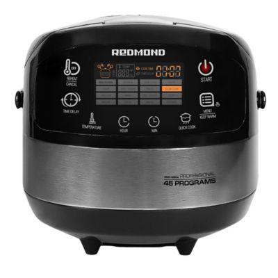 Robot de Cocina Antiadherente 860Watts RMC-M90A Negro