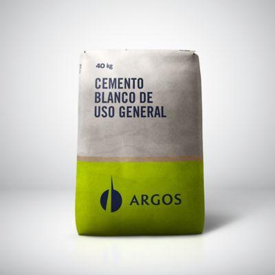 Cemento Argos Blanco 40kg