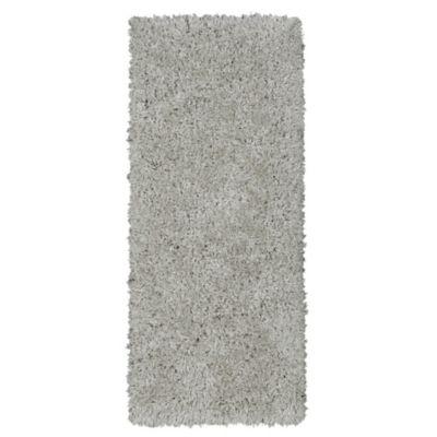 Tapete Flokati 152x61 cm Gris
