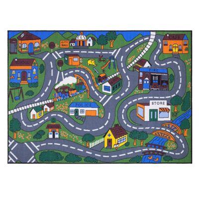 Tapete para Niños Educacional 220x160 cm Multicolor