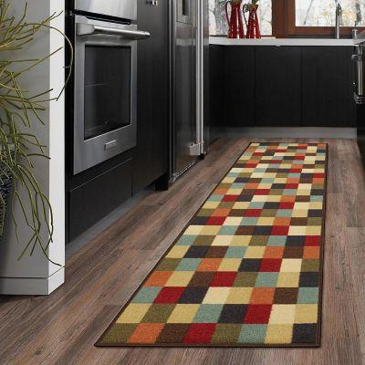 Camino Diseño Checkered 299x78 cm Multicolor