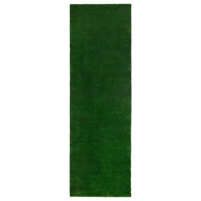 Tapete Verde Imitación Pasto 221x91 cm