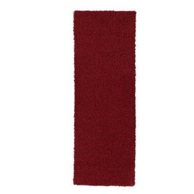 Tapete Diseño Sólido 243x78 cm Rojo