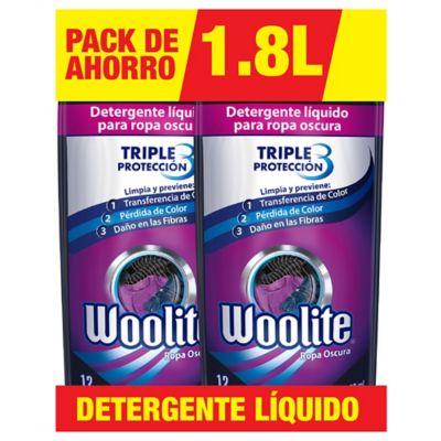 Woolite Black 1,8 L x 2 Unidades