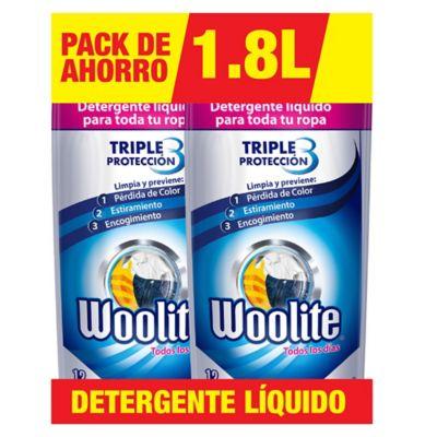 Woolite Todos los Días 1,8L x 2 Unidades