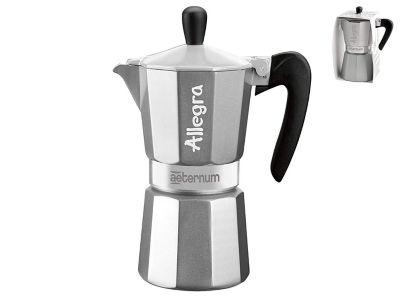 Cafetera Allegra 6 Tazas Gris