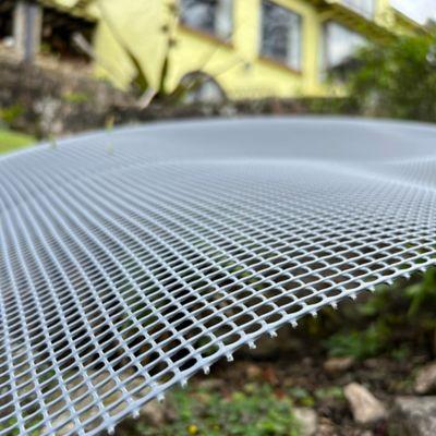 Malla Cedazo 2X2 Plastica Gris de 1.50 X 30 Mts