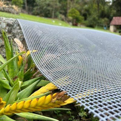 Malla Cedazo 6X6 Plastica Gris de 1.50 X 30 Mts