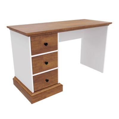 Escritorio Ferrel 72,9x120x50 Caramelo/Blanco