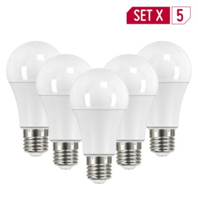 Setx6 Bombillo Led 950lm 10.5w Luz Amarilla