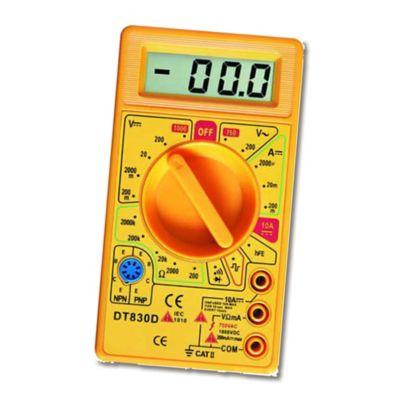 Multímetro Digital Análisis de Señal Transistor HFE Paquete x3 Multímetros