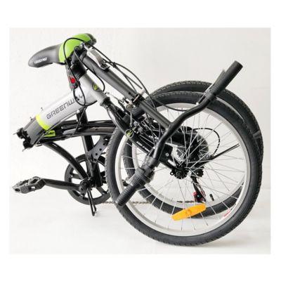 Bicicleta Urbana Plegable Rin 20 Pulgadas Negro