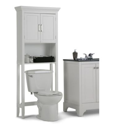 Mueble Auxiliar para Baño 68.5cm Ancho x 170.2cm Altura x 25.4 Profundidad  Blanco