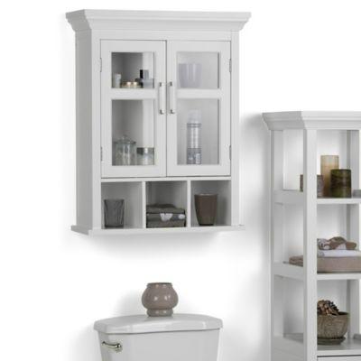 Mueble de Pared para Baño 60cm Ancho x 25.4cm Fondo x 76.2 Alto Blanco