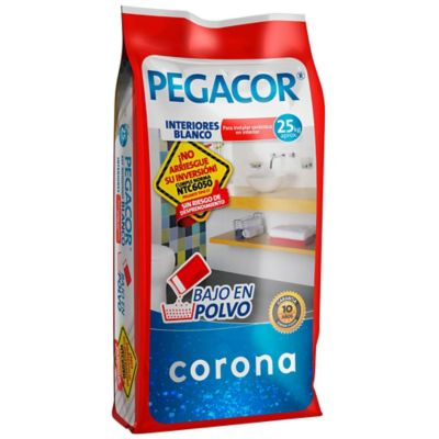 Pegacor blanco 25 kilos