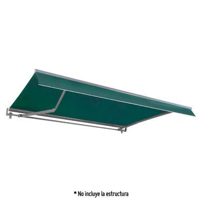 Tela Cobertor Toldo 290x200 cm - Verde