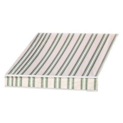 Tela Cobertor Toldo 290x200 cm - Café y Verde