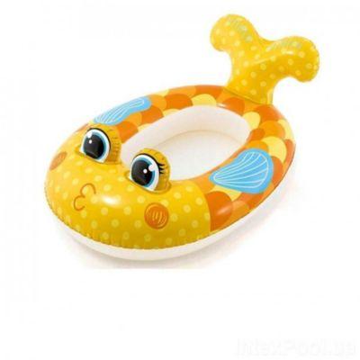 Flotador Infantil  Bote  Inflable  Pez