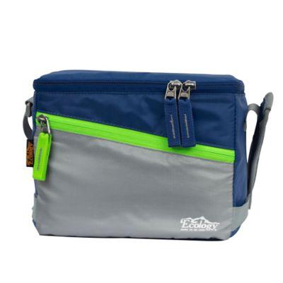 Lonchera Térmica Porta Comida Lunch Bag Azul Oscuro 10 Lt