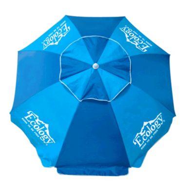 Sombrilla Playa Parasol 1,9 Mt Protección UV Azul
