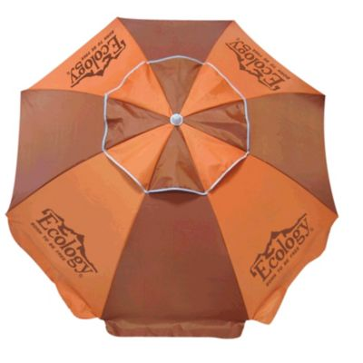 Sombrilla Playa Parasol 1,9 Mt Protección UV Naranja