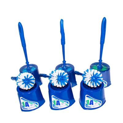 Cepillo Sanitario con Base Plástica x 6 Unidades