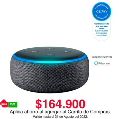 Altavoz Inteligente Echo Dot Amazon Con Alexa