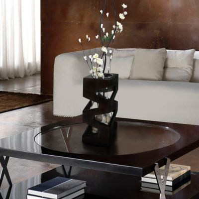 Florero Mesa 27 cm Hilayana Wengue-Betas
