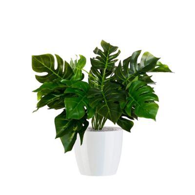 Planta Artificial Con Matera Plástica 43 cm Balazo