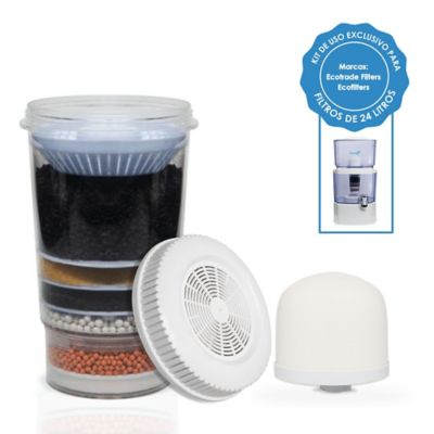 Kit De Repuestos Filtro Purificador Agua 24 Lts