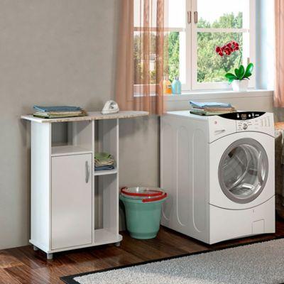 Mueble para Plancha 91x90x36cm Blanco