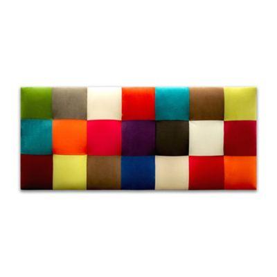 Cabecero para Cama Sencilla Colorspicture Microfibra 90x60cm