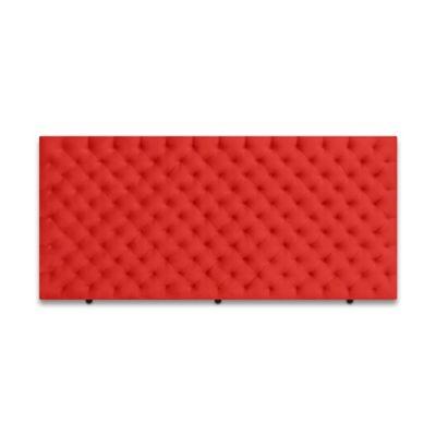 Cabecero para Cama Sencilla Fantasy de Piso 90x120cm Microfibra Rojo