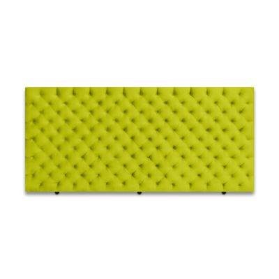 Cabecero para Cama Sencilla Fantasy de Piso 90x120cm Microfibra Verde