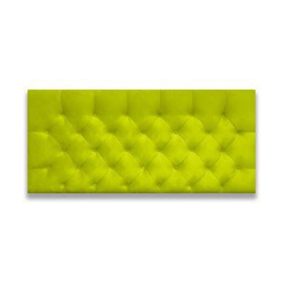 Cabecero para Cama Sencilla Fantasy Flotante 90x60cm Microfibra Verde
