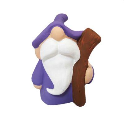 Gnomo Figura Decorativa 10 cm Azul