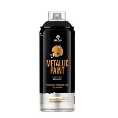Aerosol para Pintura Metálica Negro 400 ml