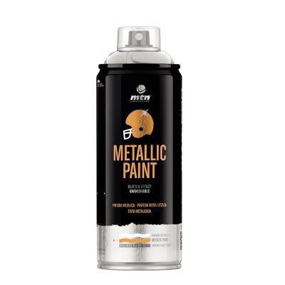 Aerosol para Pintura Metálica Aluminio 400 ml