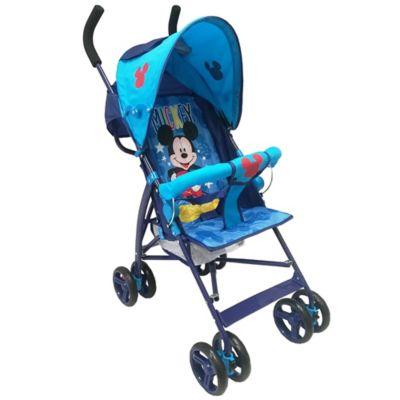 Paseador Disney Mickey Color Azul para niños de 6 Meses a 2 Años