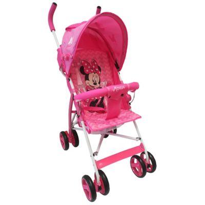 Paseador Disney Minnie Color Rosa para niñas de 6 Meses a 2 Años