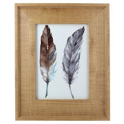 Portarretrato Wood Gold 13x18 cm
