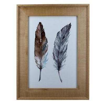 Portarretrato Wood Gold 21x30 cm