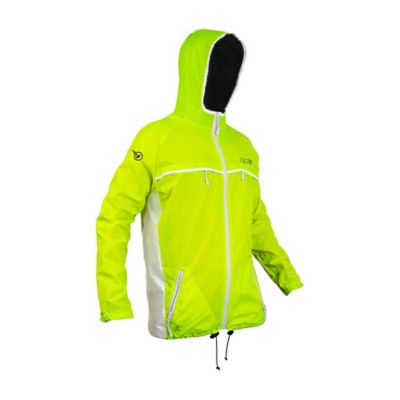 Rompeviento Impermeable para Mujer Urban Verde Talla L